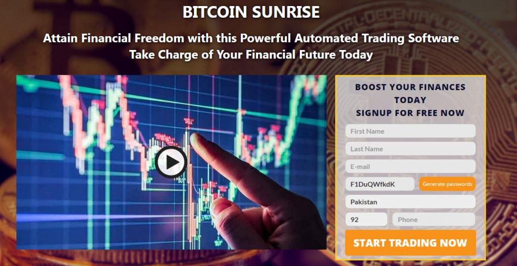 Bitcoin Sunrise Recenzja 2021: Czy to jest legalne czy fałszywe?