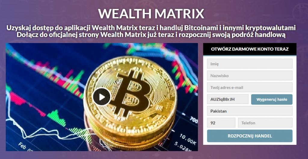 Wealth matrix Recenzja 2021: Czy to jest legalne czy fałszywe?
