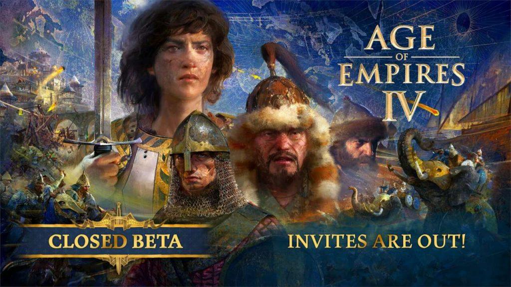 Właśnie ruszyła zamknięta beta gry The Age Of Empires 4
