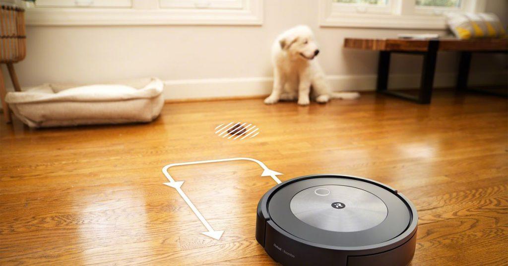 Najnowszy robot Roomba firmy iRobot wykorzystuje sztuczną inteligencję, aby uniknąć psich kupy