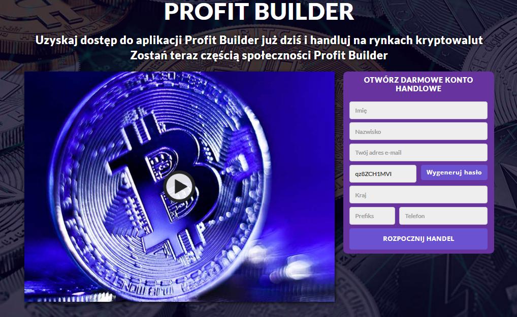 Profit Builder Recenzja 2021: Czy to jest legalne czy fałszywe?