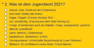 Cringe po niemiecku – znaczenie słowa młodzieżowego 2021